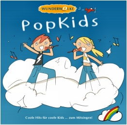 "CD-Cover: WUNDERWOLKE ""PopKids"""